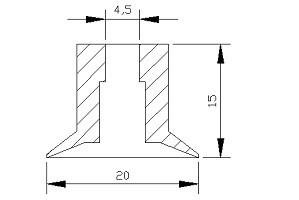 真空吸盤VL1-20