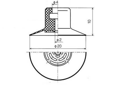真空吸盤PA1-20A