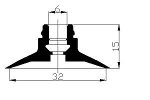 真空吸盤ZC1-32