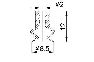 Vacuum Pads S2-08.5